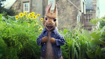 The internet is NOT a fan of the new Peter Rabbit movie