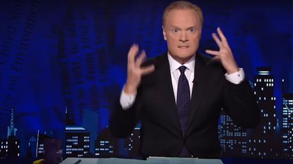 MSNBC news anchor is caught on camera having the most hilariously pathetic meltdown!