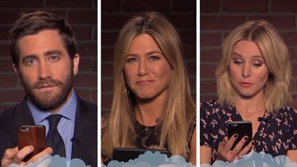Watch Jennifer Aniston, Emma Watson and other stars read the meanest things said about them online