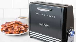 Would you buy this bizarre bacon toaster?