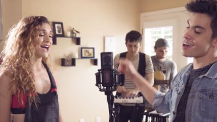 These singers mashed up 20 Taylor Swift and Ed Sheeran songs into one BEAUTIFUL tune