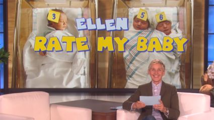 Ellen DeGeneres rates her fan's babies and it is hilarious