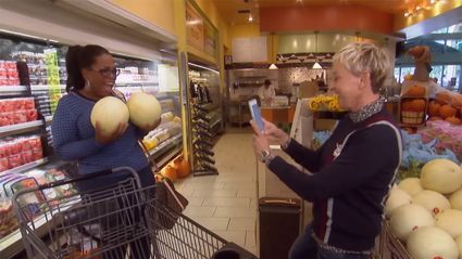 Watch what happens when Ellen and Oprah go shopping together