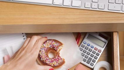 Study reveals working in an office is making women fat...