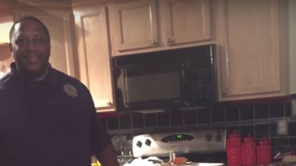WATCH: Husband's emotional reaction to pregnancy announcement after trying for 17 years