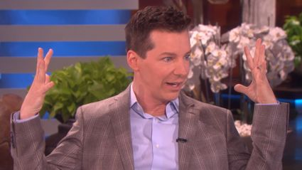Will & Grace star Sean Hayes reveals recent near-death experience to Ellen