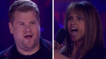 Watch Halle Berry completely slay James Corden in this EPIC rap battle