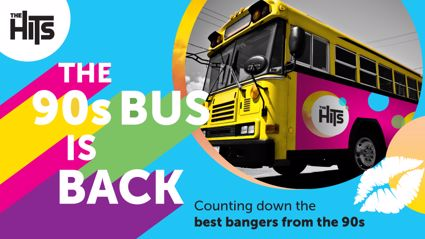 Enjoyed The Hits 90s Bus? Here's the full list of songs