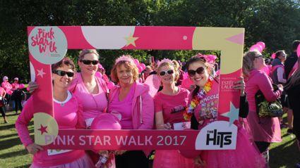 Pink Star Walk - Christchurch (1)
