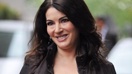Nigella Lawson labelled a fake after showing off even slimmer figure at book signing