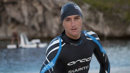 Sarah Sam and Toni talk to world record holding freediver William Trubridge
