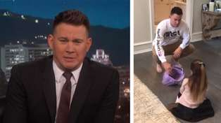Channing Tatum tells daughter he ate all her Halloween candy and she didn't take it well