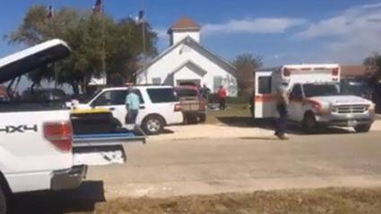 Multiple people dead after gunman storms Texas church