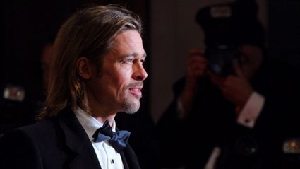 Brad Pitt makes rare public appearance looking hotter than ever