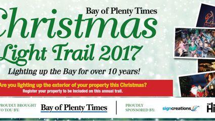 Tauranga: Register for the Bay of Plenty Times Light Trail
