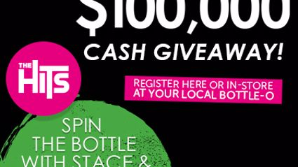 The Hit's Bottle-O $100,000 cash giveaway