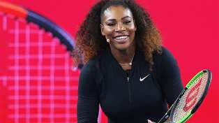 Serena Williams makes her first post-baby appearance and she looks incredible!