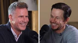 Will Ferrell & Mark Wahlberg pull out their best worst dad jokes