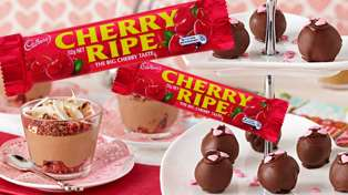 Five recipes for fans of the chocolate banished from Cadbury Roses: Cherry Ripe