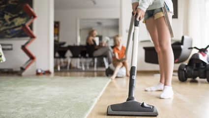 Apparently doing daily household chores has a surprising health benefit...