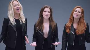 Watch the Pitch Perfect cast's amazing mashup of Cups and Freedom