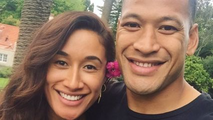 Maria Tutaia shares the first pictures of her wedding to Israel Folau - and her dress is incredible!