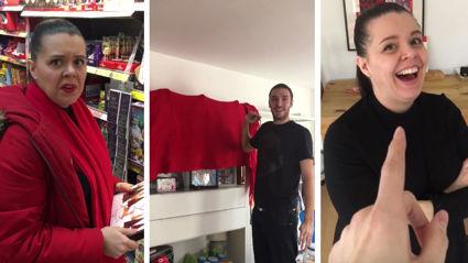 Dad creates hilarious Christmas Advent Calendar life hack