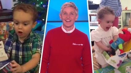 Ellen shares hilarious video of kids reacting to their Christmas gifts