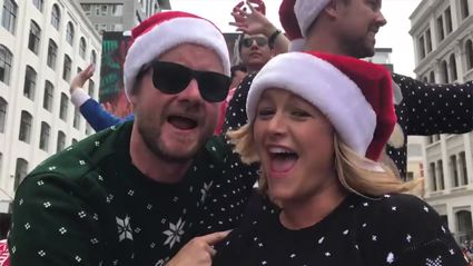 Check out all the action from Auckland's Farmers Santa Parade