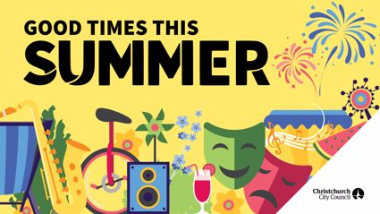 SummerTimes events with The Hits and Christchurch City Council