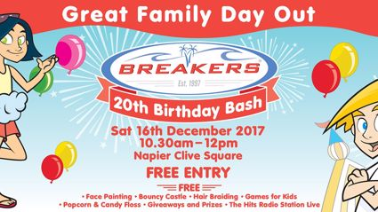 Breakers 20th Birthday Celebration with The Hits