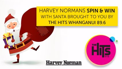 Harvey Norman's Spin and WIN with Santa!