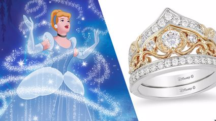 Apparently there are now Disney Princess-themed engagement rings and they are stunning!