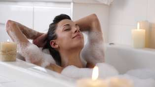 Apparently a hot bath could burn as many calories as a workout!