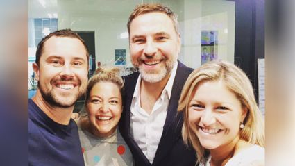 The amazing David Walliams leaves Sarah Sam & Toni in tears of laughter