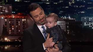 Jimmy Kimmel's emotional return after baby son Billy's heart surgery