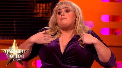 Rebel Wilson relives her audition for Pitch Perfect