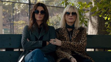 Sandra Bullock, Cate Blanchett and Rihanna are perfect in FIRST look at Ocean's 8 trailer
