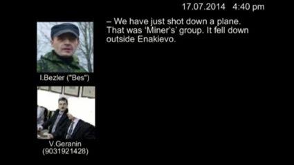 Audio of russian separatist commander