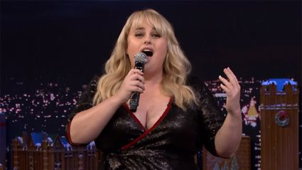 Rebel Wilson and Jimmy Fallon perform hilarious Google Translated Christmas songs