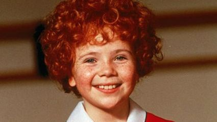 Remember the girl from 'Annie'? Well this is what she looks like now...