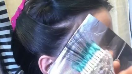'Glitterage' hair dye is the hottest new trend — and it actually looks super cool!