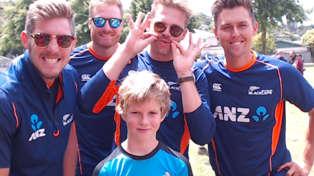 MS Ford & NZ Black Caps Kids Training Day