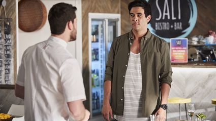 Home and Away's James Stewart reveals he's in a relationship with co-star