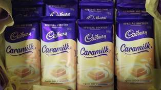 Caramilk chocolate is making another New Zealand comeback