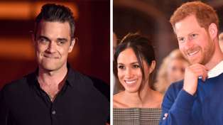 Robbie Williams tells Flynny what he really thinks about Prince Harry and Meghan Markle's engagement