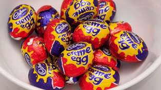Cadbury Creme Egg ice cream is totally a thing now!