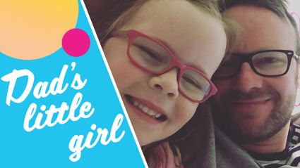 Flynny reveals how he felt on daughter's first day of school and it will melt your heart