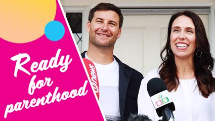 Jacinda Ardern reveals to Stace & Flynny that her baby bump is already getting huge