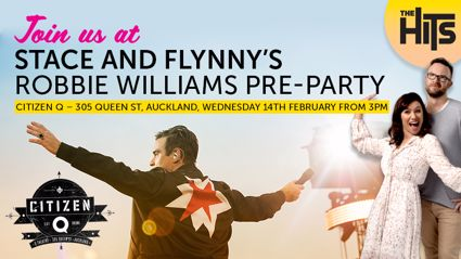 Stace & Flynny's Robbie Williams Pre-Party